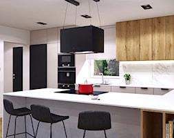 Widok na kuchnie - zdjęcie od MACZ Architektura - Homebook