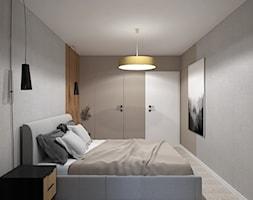 Beżowa sypialnia - zdjęcie od MACZ Architektura - Homebook