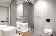 Łazienka styl Minimalistyczny - zdjęcie od Finchstudio Architektura Wnętrz