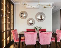 Apartament inspirowany Paryżem - Jadalnia - zdjęcie od Finchstudio Architektura Wnętrz - Homebook
