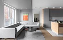 Salon styl Minimalistyczny - zdjęcie od Finchstudio Architektura Wnętrz