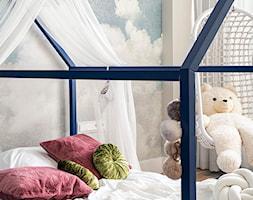 Apartament Wrocław 100m2 - Mały szary pokój dziecka dla chłopca dla dziewczynki dla malucha, styl s ... - zdjęcie od Finchstudio Architektura Wnętrz - Homebook