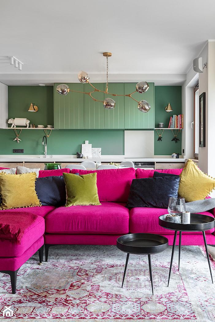 Paleta kolorów - Jadalnia, styl nowoczesny - zdjęcie od Finchstudio Architektura Wnętrz - Homebook