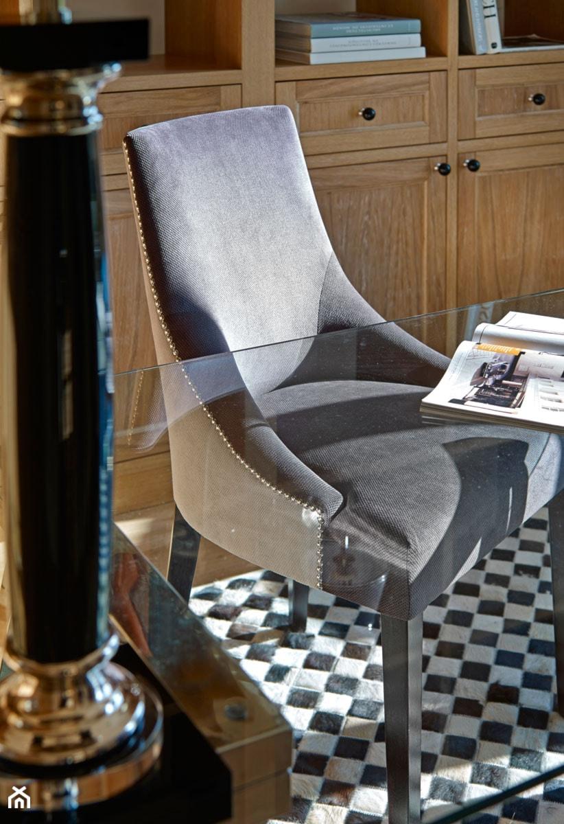 Aranżacje wnętrz - Biuro: Dom jednorodzinny w Wilanowie - Małe biuro kącik do pracy, styl nowoczesny - BBHome Design. Przeglądaj, dodawaj i zapisuj najlepsze zdjęcia, pomysły i inspiracje designerskie. W bazie mamy już prawie milion fotografii!
