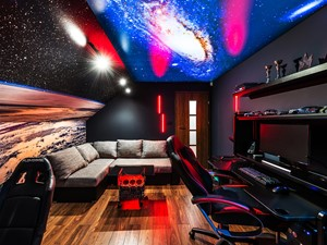 Sesja foto pokoju dla gracza SPACE ROOM_Banino