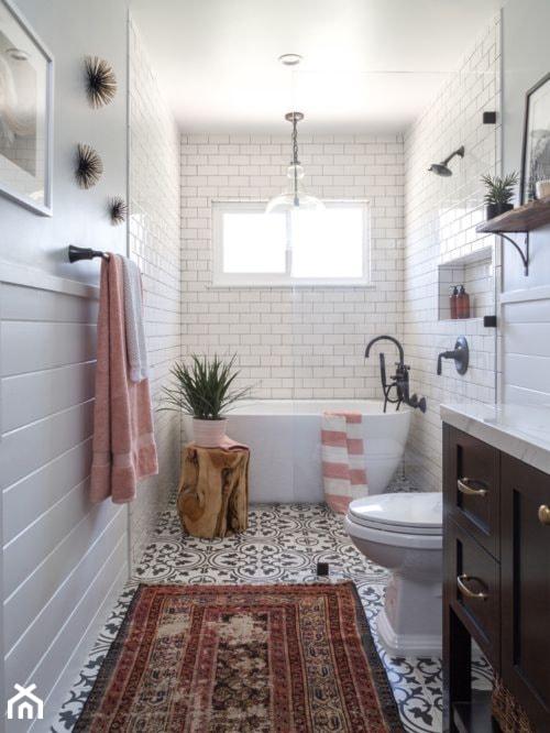 Płytki Cementowe W łazience Zdjęcie Od Płytki Orientu