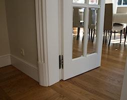 Stylowe przeszklone drzwi drewniane - detal - zdjęcie od Drzwi doorlux_pl