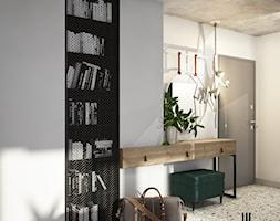 Loftowy przedpokój w Krakowie - zdjęcie od UDOMOWIENI - Homebook