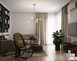 Beżowy salon w Częstochowie - zdjęcie od UDOMOWIENI - Homebook