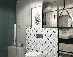 Łazienka z nutką zieleni - zdjęcie od UDOMOWIENI - Homebook