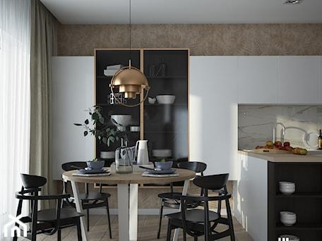 Aranżacje wnętrz - Kuchnia: Elegancka kuchnia w Częstochowie - UDOMOWIENI. Przeglądaj, dodawaj i zapisuj najlepsze zdjęcia, pomysły i inspiracje designerskie. W bazie mamy już prawie milion fotografii!