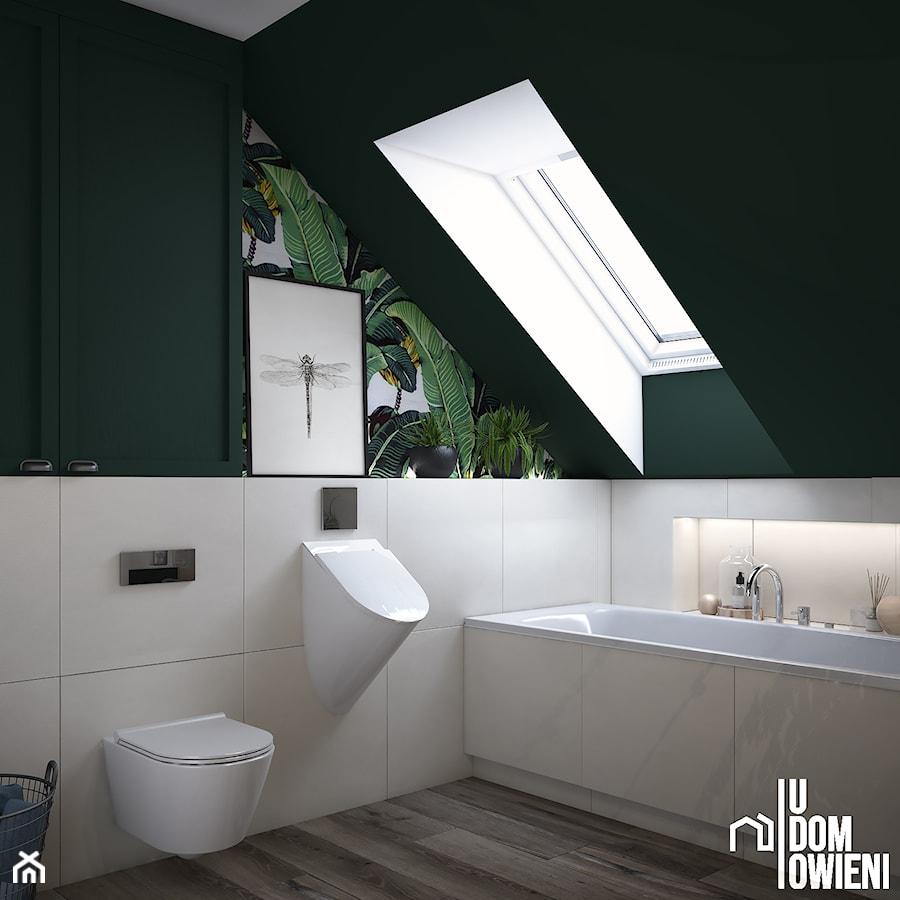 Tropikalna łazienka pod Krakowem - zdjęcie od UDOMOWIENI