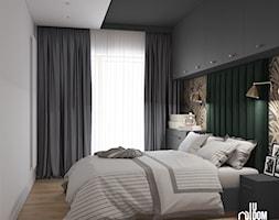 Sypialnia z motywem roślinnym - zdjęcie od UDOMOWIENI - Homebook