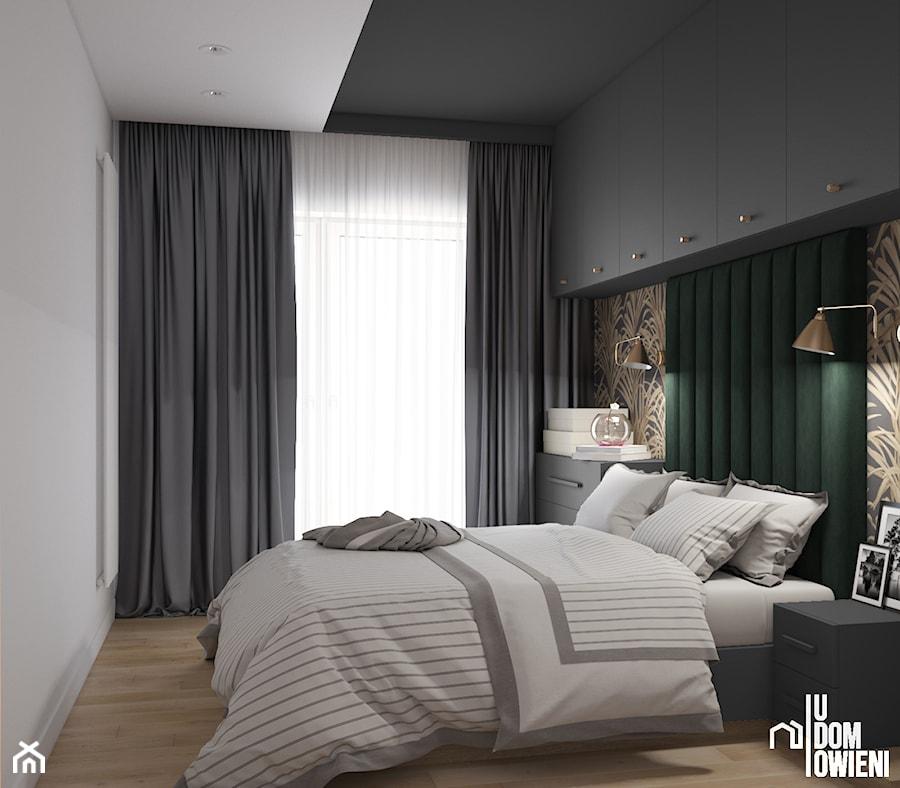 Sypialnia z motywem roślinnym - zdjęcie od UDOMOWIENI