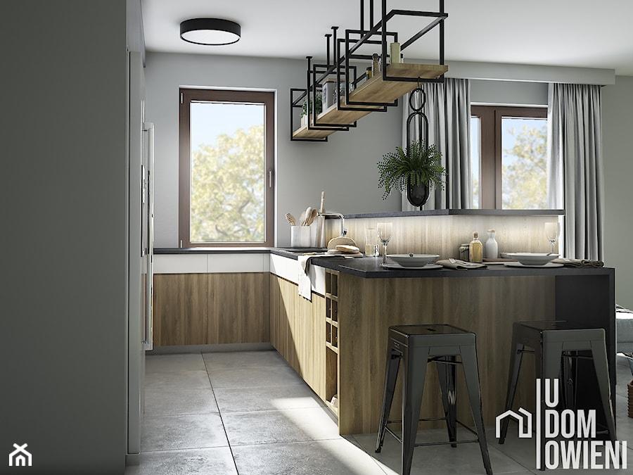 Słoneczna kuchnia w Krakowie - Kuchnia, styl skandynawski - zdjęcie od UDOMOWIENI