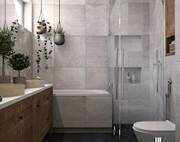 Rustykalna łazienka w Katowicach - zdjęcie od UDOMOWIENI - Homebook