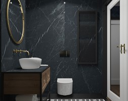 Łazienka z klasycznym motywem w Krakowie - Średnia łazienka, styl nowoczesny - zdjęcie od UDOMOWIENI - Homebook