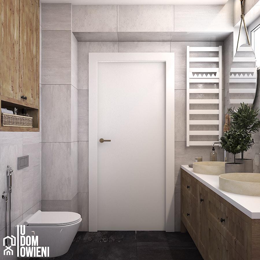 Rustykalna łazienka w Katowicach - zdjęcie od UDOMOWIENI