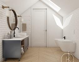 Łazienka na poddaszu - zdjęcie od Buba Interior - Homebook