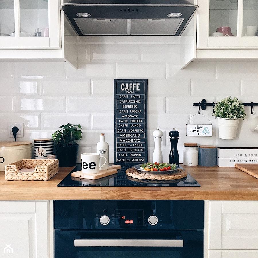 Zdjęcia mieszkania - Biała kuchnia - zdjęcie od ania.home