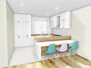 Kuchnia minimalistyczna - zdjęcie od CzajkaDesign
