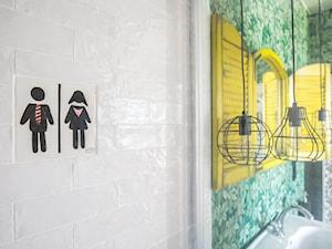 Łazienka w stylu boho - zdjęcie od Pion Poziom