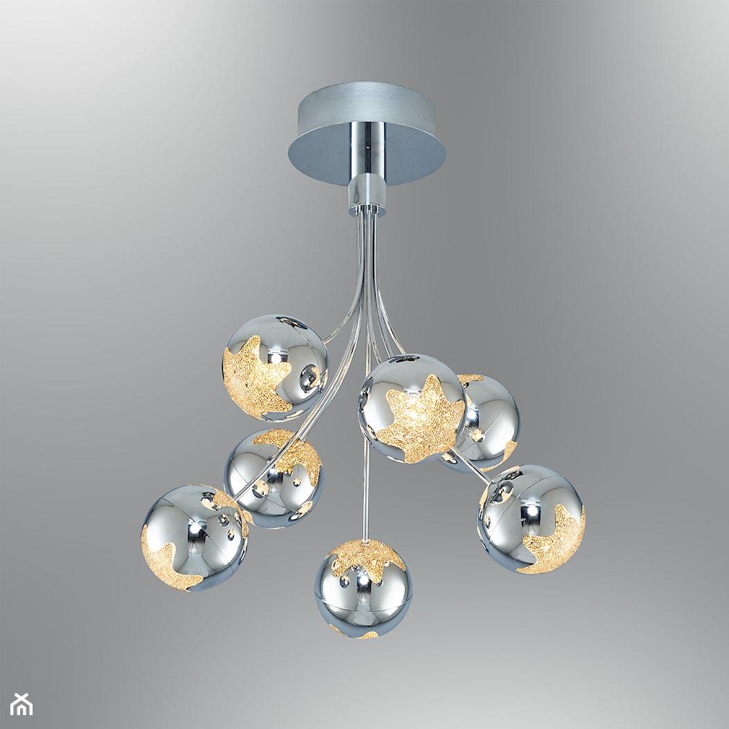 LAMPA LED PLAFONIERA OZCAN 5372-7 CHROM PLAFON - zdjęcie od Fashion Light - Homebook