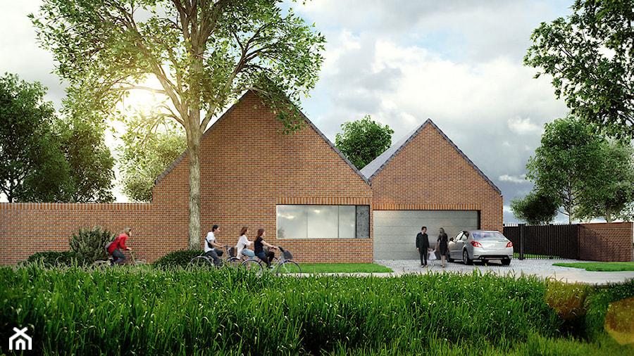 dom akustyczny w Żernikach Małych - Nowoczesne domy, styl nowoczesny - zdjęcie od major architekci