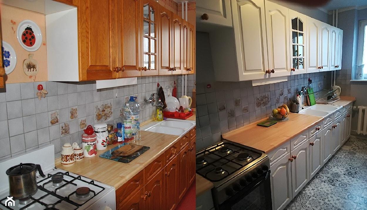 malowanie mebli kuchennych krok po kroku