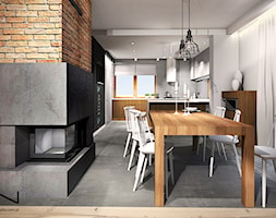 Projekt wnętrza domu, Częstochowa - zdjęcie od IN studio