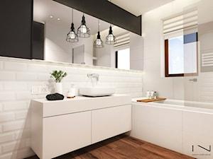 Łazienka w stylu skandynawskim - zdjęcie od IN studio