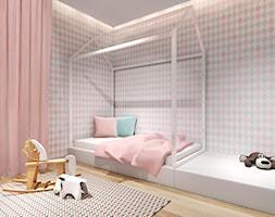 Projekt pokoju dziecka, wersja dla dziewczynki - zdjęcie od IN studio - Homebook
