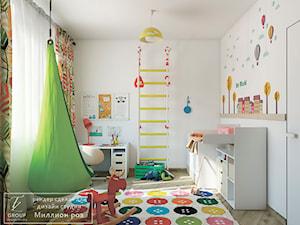Design project - Loft - Średni szary pokój dziecka dla chłopca dla dziewczynki dla ucznia dla niemowlaka - zdjęcie od Tz_interior