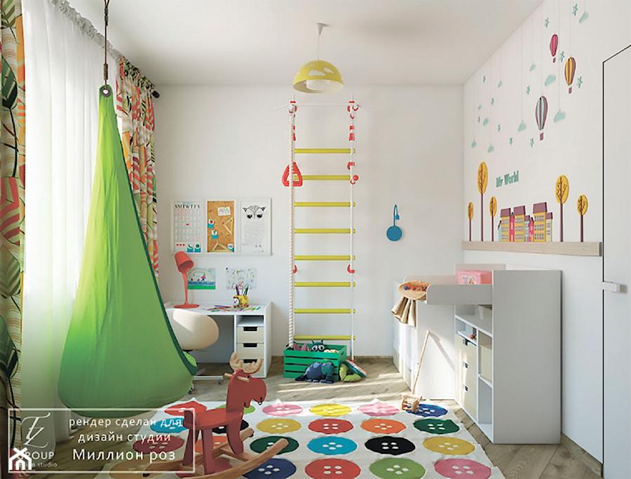 Aranżacje wnętrz - Pokój dziecka: Design project - Loft - Średni szary pokój dziecka dla chłopca dla dziewczynki dla ucznia dla niemowlaka - Tz_interior. Przeglądaj, dodawaj i zapisuj najlepsze zdjęcia, pomysły i inspiracje designerskie. W bazie mamy już prawie milion fotografii!