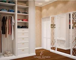 Proekt w stylu art deco - Średnia zamknięta garderoba, styl klasyczny - zdjęcie od Tz_interior