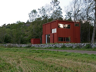 Dom w typowym szwedzkim stylu