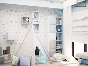 Pokój dla chłopca - zdjęcie od Kwadrat Design Studio