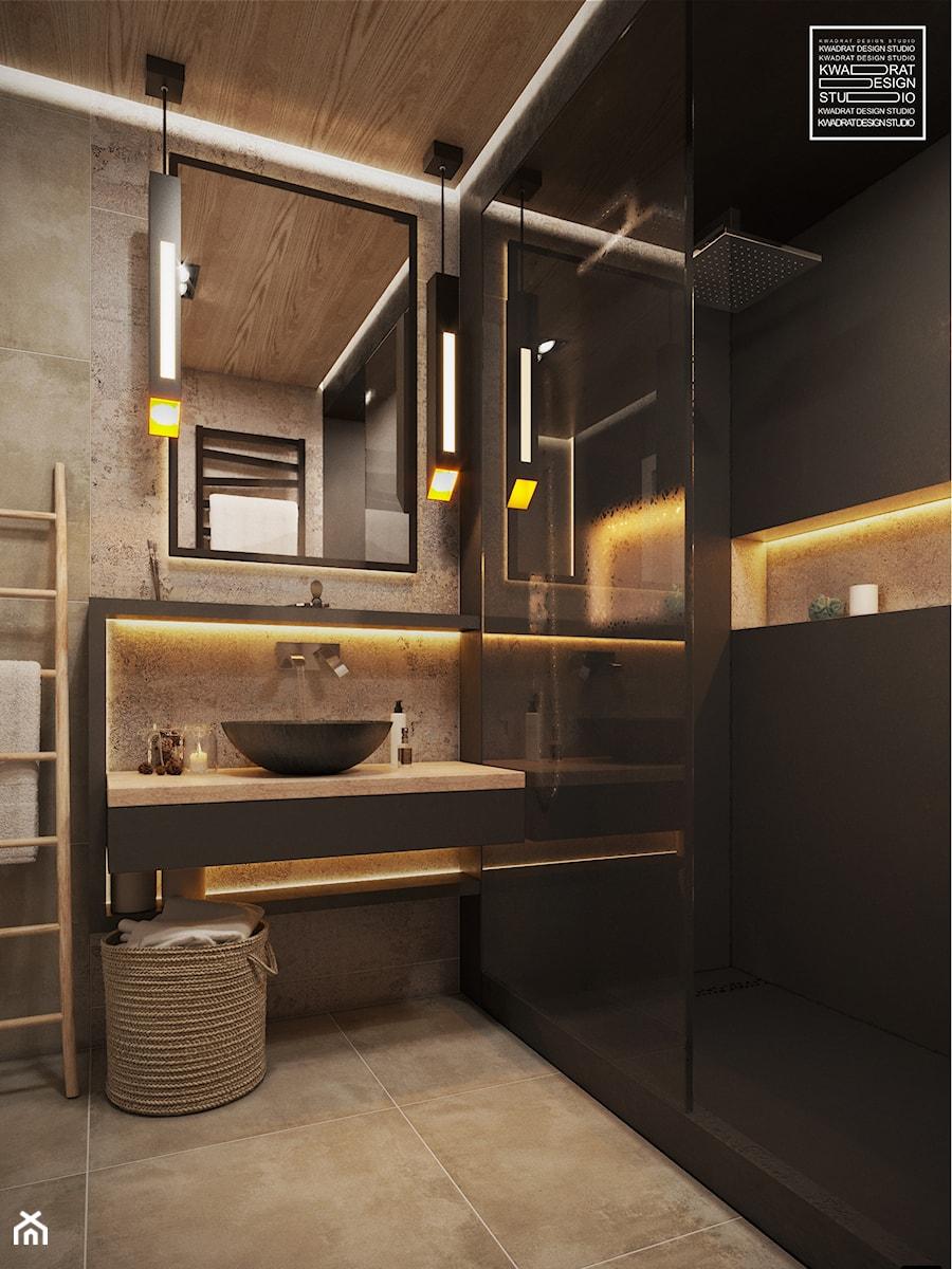 łazienka Z Klimatem Zdjęcie Od Kwadrat Design Studio
