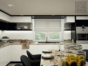 Kuchnia w bieli i czerni