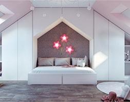 Pokój dla dziewczynki - zdjęcie od Kwadrat Design Studio - Homebook