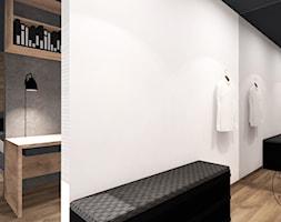 W MĘSKIM STYLU - Średnia garderoba przy sypialni, styl minimalistyczny - zdjęcie od MANIANAstudio
