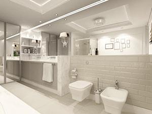 Łazienka na piętrze - zdjęcie od GSG STUDIO | interiors & design