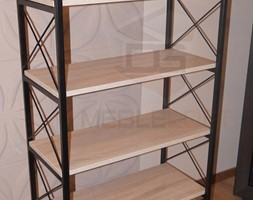 Regały - Salon, styl industrialny - zdjęcie od DGMEBLELOFT - Homebook