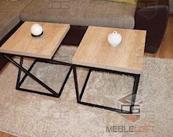 STOLIKI KAWOWE - Salon, styl industrialny - zdjęcie od DGMEBLELOFT - Homebook
