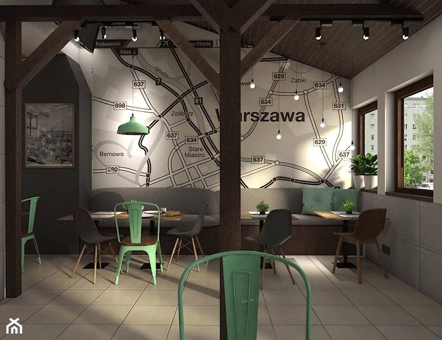Aranżacje wnętrz - Wnętrza publiczne: Pizzeria na Bemowie - OroConcept Anna Orowiecka-Stanisławska. Przeglądaj, dodawaj i zapisuj najlepsze zdjęcia, pomysły i inspiracje designerskie. W bazie mamy już prawie milion fotografii!