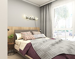 Łóżko z tapicerowanym zagłówkiem - zdjęcie od OroConcept Anna Orowiecka-Stanisławska - Homebook