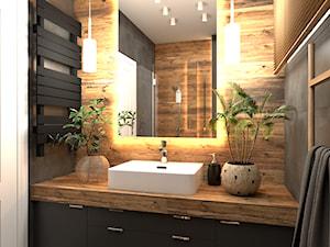 Łazienka w domu w Józefowie