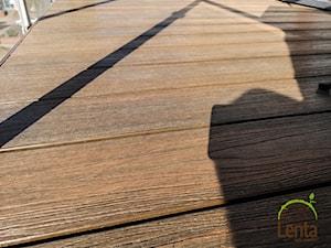 Kompozyt drewna II generacji Lenta Balkon