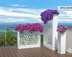 Donice stalowe LuxSteel - seria Organic - zdjęcie od LuxSteel