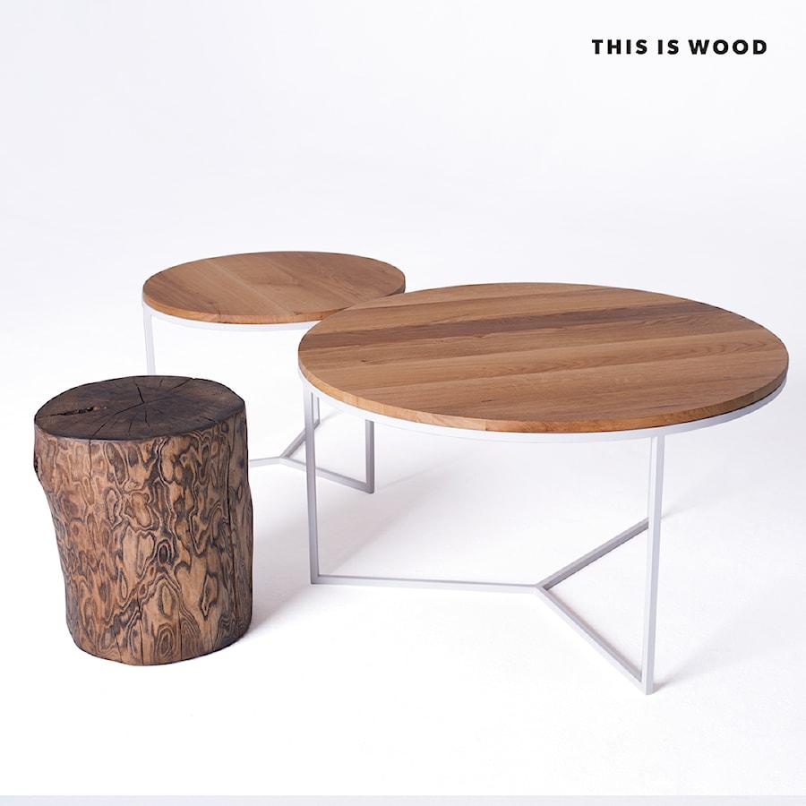 Stoliki Kawowe Okrągłe Zdjęcie Od This Is Wood Homebook